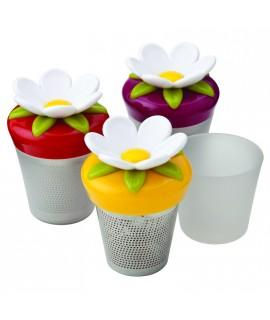 Kit Molde para hielos con tapa antiderrame + Infusor de té - Artículos de cocina
