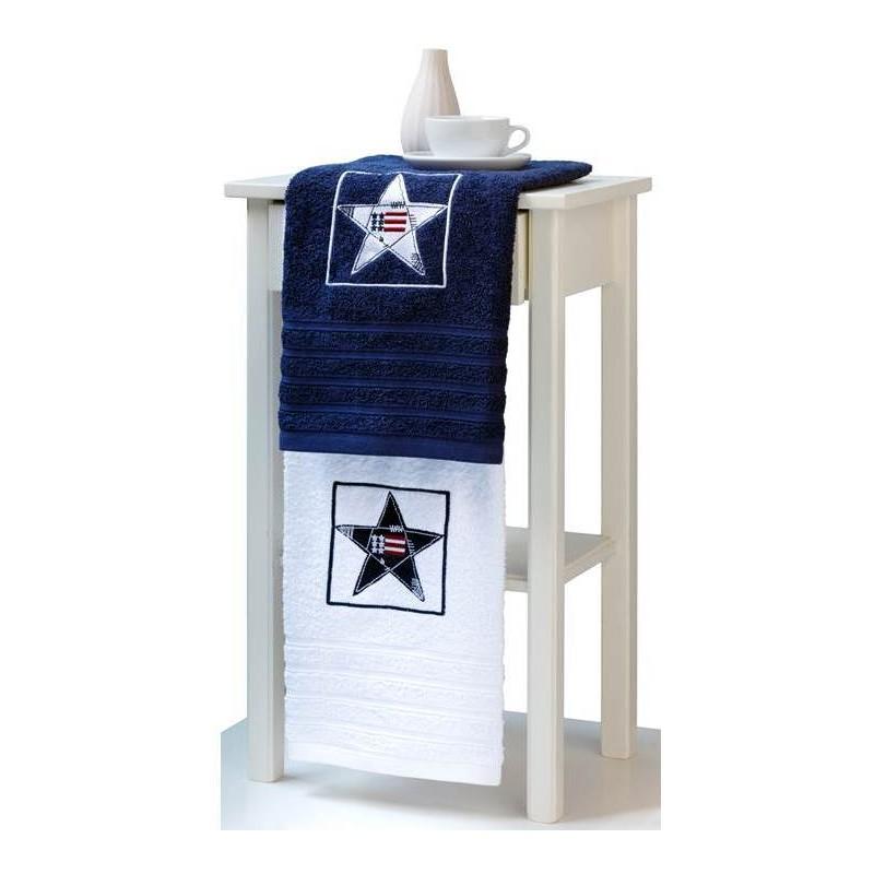 Juego tres toallas bordadas star - Electronica del hogar ...