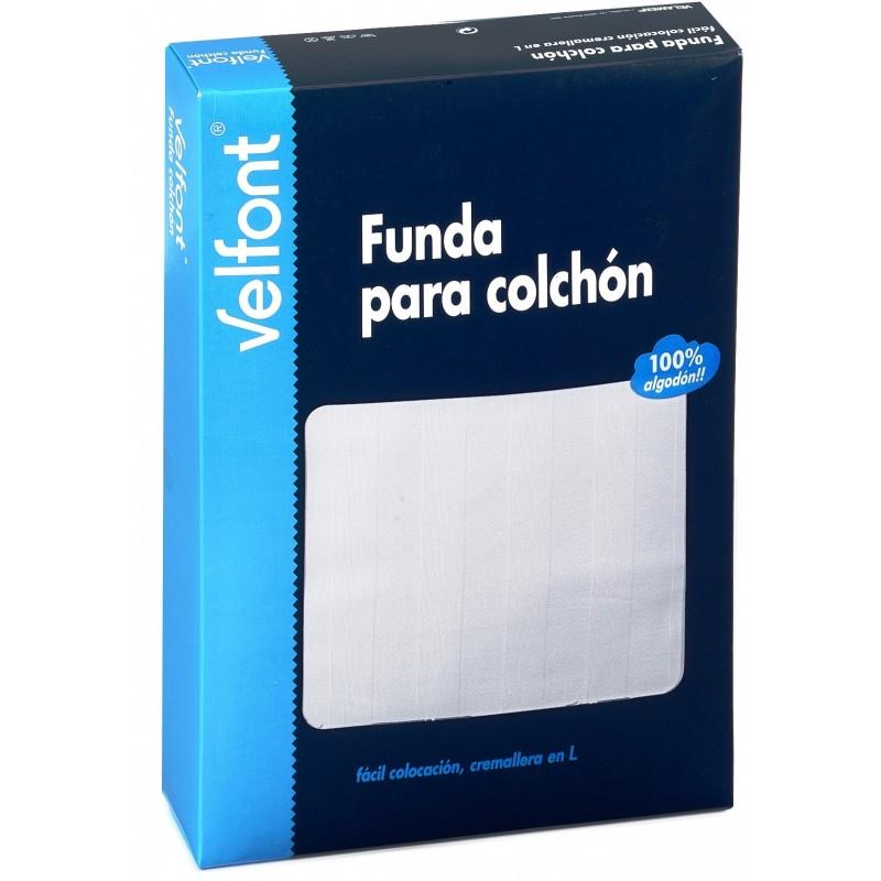 Funda colch n absorbente blanco for Fundas de colchon ikea