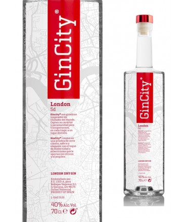 GINEBRA PREMIUM GINCITY LONDON 70CL